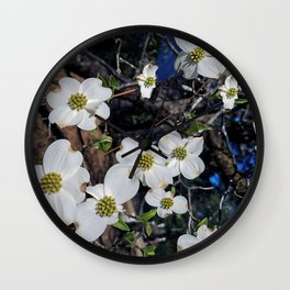 dogwood days of summer Wall Clock