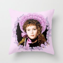 Vampire Child Claudia Throw Pillow