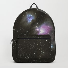 Orion horsehead running man and flame nebula Backpack