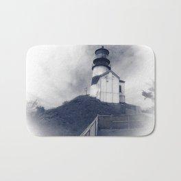 Ilwaco Washington - Memories Of The Lighthouse Bath Mat
