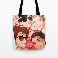 johannathemad Tote Bags featuring B) by JohannaTheMad