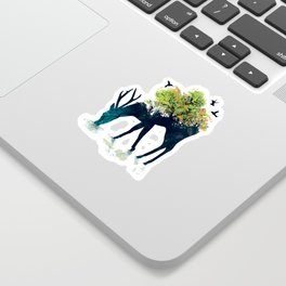 Watering (A Life Into Itself) Sticker