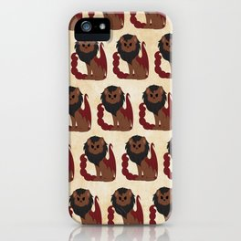 Manticore Pattern iPhone Case