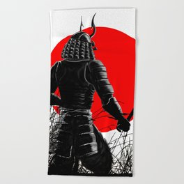 The way of warrior Beach Towel