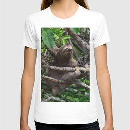 Sloth_20171106_by_JAMFoto T-shirt