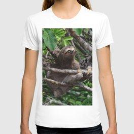 Sloth_20171106_by_JAMFoto T-shirt