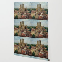 Lincoln Cathedral Wallpaper