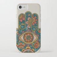 hamsa iPhone & iPod Cases featuring Hamsa by Valentina Harper
