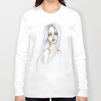 """transparent Long Sleeve T-shirts featuring """"TRANSPARENT"""" by AB.13"""