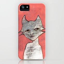 Cat Woman iPhone Case
