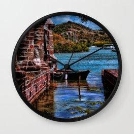 Nelsons Dockyard Wall Clock