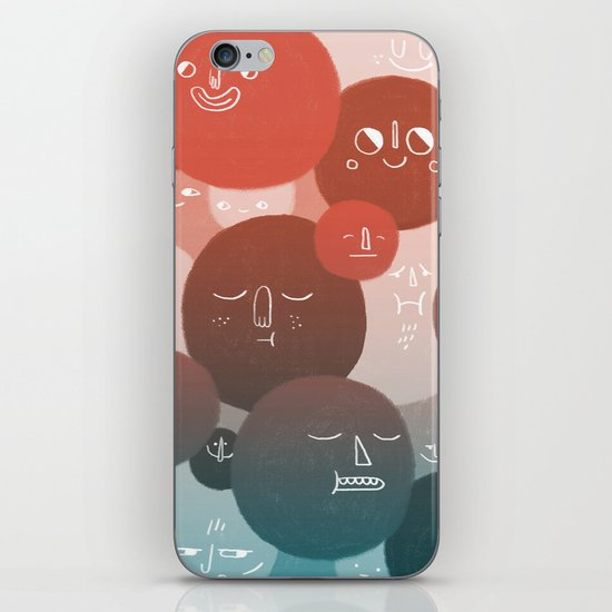 Blood Cells iPhone & iPod Skin