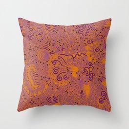 Purple Pizzazz, Part 3 Throw Pillow
