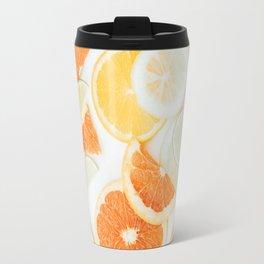 citrus fresh orange twist Travel Mug