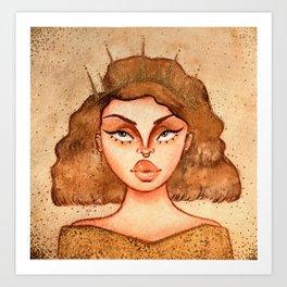 Gold Royalty Art Print