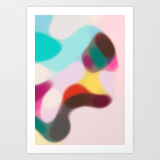 CHAMPAGNE COAST 03. Art Print