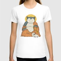 snorlax T-shirts featuring Hotei Snorlax by Mallory Hodgkin