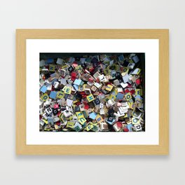 Letters to no one Framed Art Print