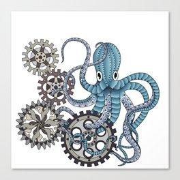 Miss. Octopus Canvas Print