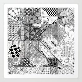 Small K Art Print
