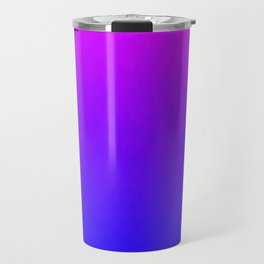 Pink Purple Blue Ombre Flames Travel Mug