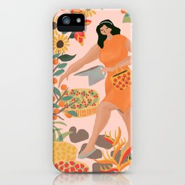 Graden and Fruits iPhone Case