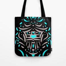 Temple of faces Tote Bag