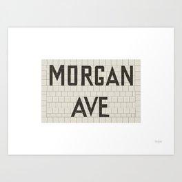 Morgan Avenue Art Print
