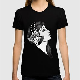 Traditional tatto gypsy girl T-shirt