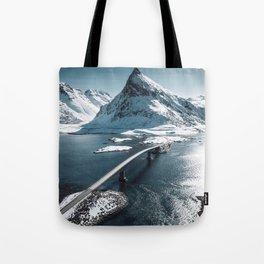 lofoten bridge Tote Bag