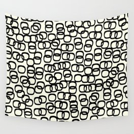Black Tie Collection Links Wall Tapestry