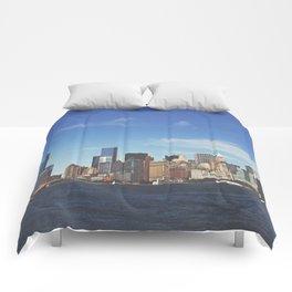 Manhattan Skyline Comforters