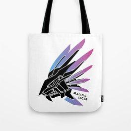MaiasaLiger Murasame (black) Tote Bag