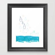 Soft Fall Framed Art Print