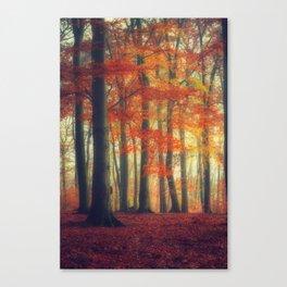 Dreamy Fall Reds Canvas Print