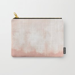 Cotton candy in beige pink Carry-All Pouch
