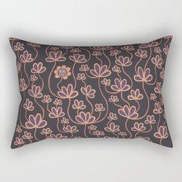 No movin, just growin Rectangular Pillow