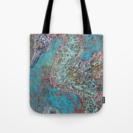 Seahorse in Glass Cradle Tote Bag