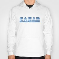 sagan Hoodies featuring Sagan by djoek