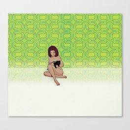 Nude Dimensions Nº3 Canvas Print