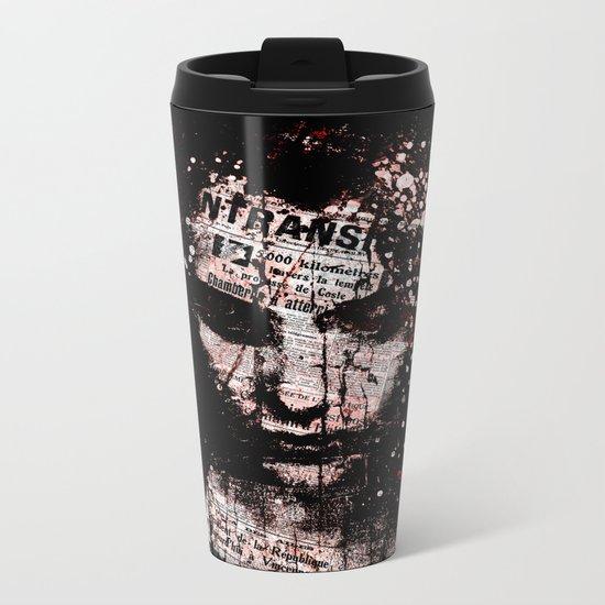 Sad News Metal Travel Mug