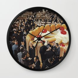 Trading Floor Wall Clock
