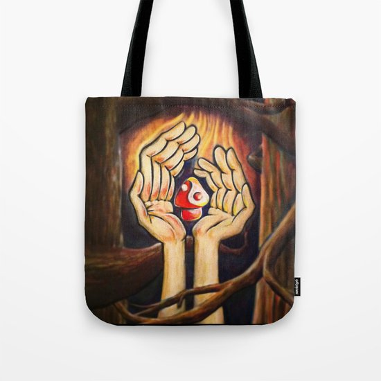 The Fruit of Duality Tote Bag