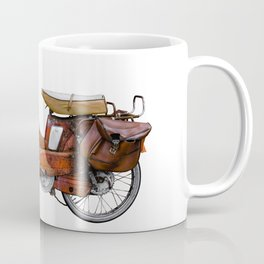 Vintage French Moped Coffee Mug