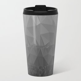 Black and Grey Ombre - Flipped Travel Mug