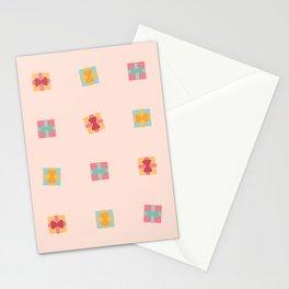 Christmas Present Pastel Pattern Stationery Cards