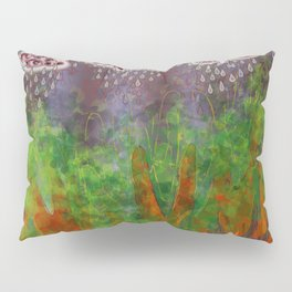 Partly Cloudy with Grey Eyes Pillow Sham