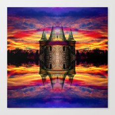 Castle rocket Canvas Print