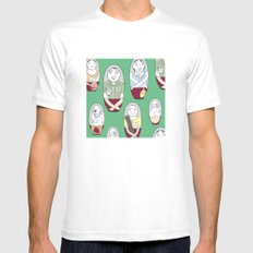 Familushka Mens Fitted Tee White MEDIUM