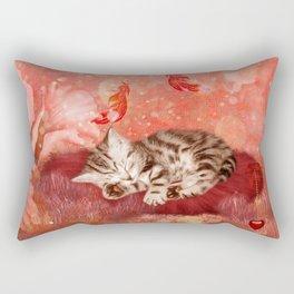 Cute little kitten Rectangular Pillow